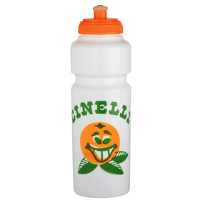 Cinelli Barry Mcgee Drinking Bottle 750ml white/tangerine
